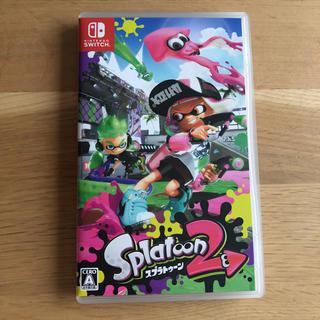 ニンテンドースイッチ(Nintendo Switch)のスプラトゥーン2(家庭用ゲームソフト)