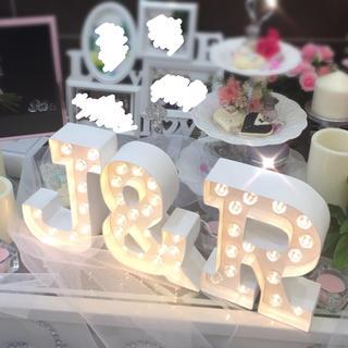 マーキーライト★J&R 3文字セット MARQUEE LOVE letters(ウェルカムボード)