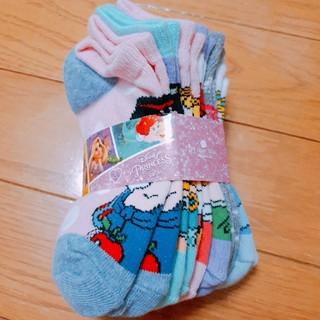 ディズニー(Disney)の新品 新品ディズニープリンセス キッズ靴下セット(靴下/タイツ)