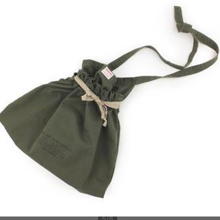 フリークスストア(FREAK'S STORE)のサコッシュ 巾着バッグ デニムダンガリー(ショルダーバッグ)