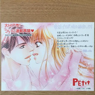ショウガクカン(小学館)の突然ですが、明日結婚します  宮園いづみ  複製イラストカード(カード)
