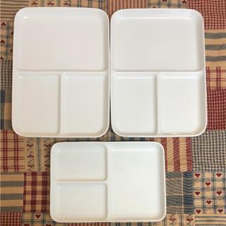 MUJI (無印良品) - 無印 ランチプレート皿 大2枚 小1枚