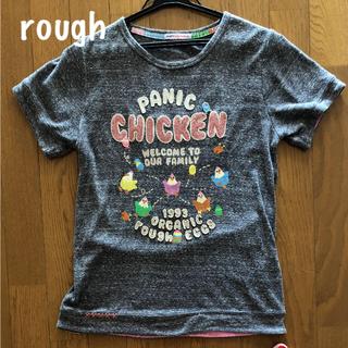 ラフ(rough)のrough ラフ Tシャツ 刺繍がかわいい!(Tシャツ(半袖/袖なし))
