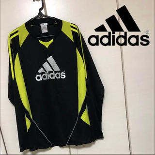 adidas - アディダス O XL LL 速乾性 ロゴ入り 長袖 ロンT メンズ