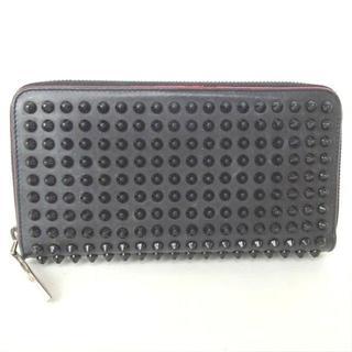 クリスチャンルブタン(Christian Louboutin)のクリスチャンルブタン ルブタン 長財布 財布 レザー 黒 ブラック 赤(長財布)