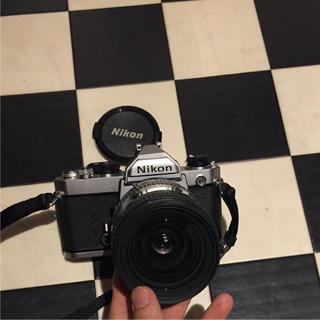 ニコン(Nikon)のニコン Nikon FM シルバーボディ 値段交渉可能(フィルムカメラ)