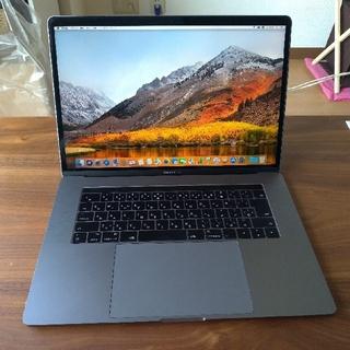 マック(Mac (Apple))のMacBook Pro 2017 15インチ MPTR2J/A 専用ケース付き(ノートPC)