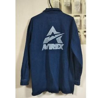 アヴィレックス(AVIREX)の美品 90s AVIREX アヴィレックス デニム ジャケット(Gジャン/デニムジャケット)