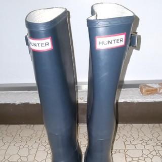 ハンター(HUNTER)のHUNTERレインブーツ メンズUK7(長靴/レインシューズ)