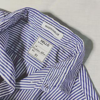 マディソンブルー(MADISONBLUE)のマディソンブルー マダムストライプシャツ(シャツ/ブラウス(長袖/七分))