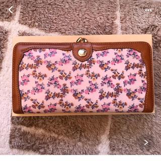 アリスバーリー(Aylesbury)の花柄がま口長財布☺︎(財布)