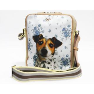 アニヤハインドマーチ(ANYA HINDMARCH)のアニヤ・ハインドマーチ ショルダーバッグ 犬モチーフ斜め掛け可能 良品 正規品 (ショルダーバッグ)