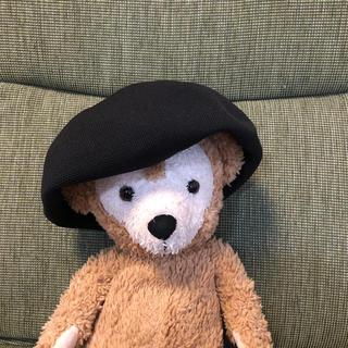 レプシィム(LEPSIM)のレプシィム●ベレー帽 ブラック 未使用(ハンチング/ベレー帽)