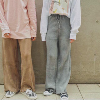 Kastane - kastane〻人気完売リブニットパンツ