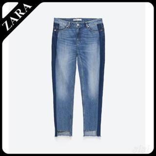 ザラ(ZARA)のZARA / リラックスフィットミディアムライズジーンズ(デニム/ジーンズ)