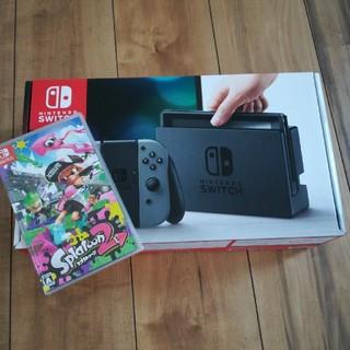 ニンテンドースイッチ(Nintendo Switch)のニンテンドースイッチ スプラトゥーン2(家庭用ゲーム本体)