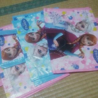 ディズニー(Disney)の新品★アナと雪の女王トートバッグ★ピンクとブルー3枚(トートバッグ)