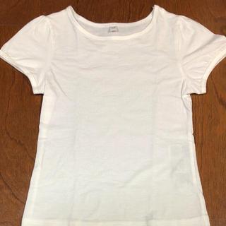 MUJI (無印良品) - 無印 パフスリーブTシャツ 110