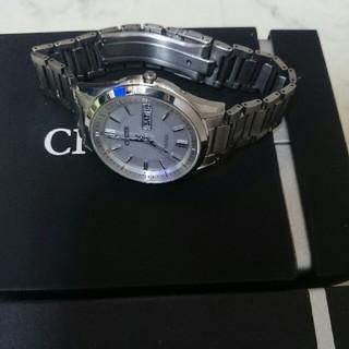 シチズン(CITIZEN)のシチズンエクシードソーラー電波時計(腕時計(アナログ))