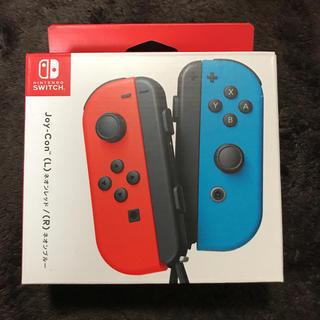 ニンテンドースイッチ(Nintendo Switch)の新品 ニンテンドースイッチ ジョイコン Rネオンブルーのみ(その他)