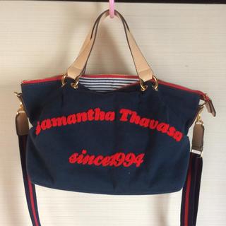 サマンサタバサ キャンバスバッグ