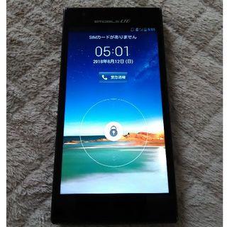 イーモバイル Huawei STREAM X GL07S ブラック(スマートフォン本体)