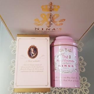 バラの芳醇な香りマリーアントワネット、ニナスの紅茶(ニナス) 新品・未開封