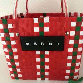 マルニ(Marni)のMARNI カゴバッグ(かごバッグ/ストローバッグ)