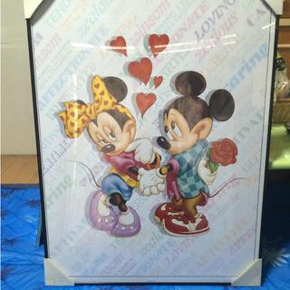 ディズニー(Disney)のミッキー&ミニー アートポスター(アート/写真)