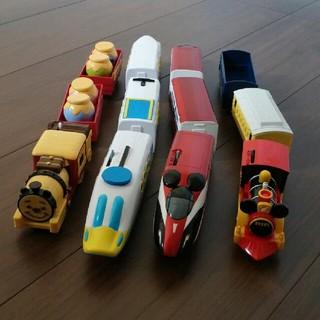 タカラトミー(Takara Tomy)の美品✨ディズニードリームレールウェイ 四点セット(電車のおもちゃ/車)
