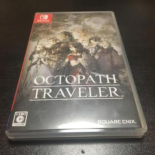 ニンテンドースイッチ(Nintendo Switch)のオクトパストラベラー switch 中古美品(家庭用ゲームソフト)