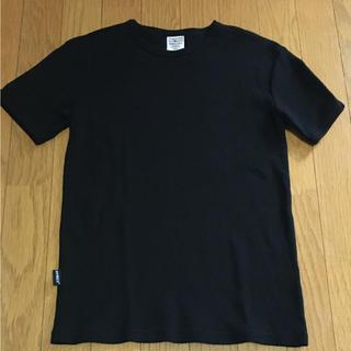アヴィレックス(AVIREX)のAVIREX★ブラック 黒 シンプル ストレス Tシャツ メンズ S(Tシャツ/カットソー(半袖/袖なし))