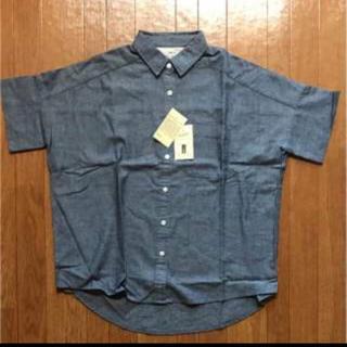 MUJI (無印良品) - 新品タグ付き!ワイド半袖シャツ