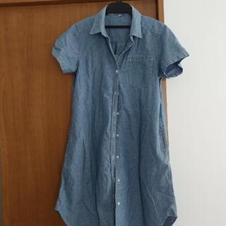 MUJI (無印良品) - 無印 デニム ワンピース 授乳服