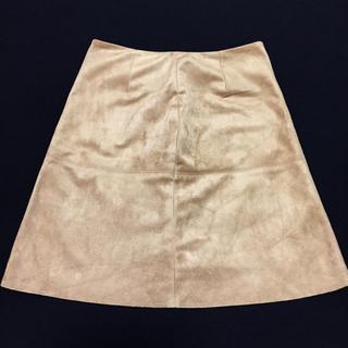 アンレリッシュ(UNRELISH)の新品同様■UNRELISH スエード台形スカート(ミニスカート)