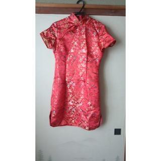 チャイナドレス 赤(その他ドレス)