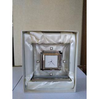 MIKIMOTO - MIKIMOTO パール付き  置き時計