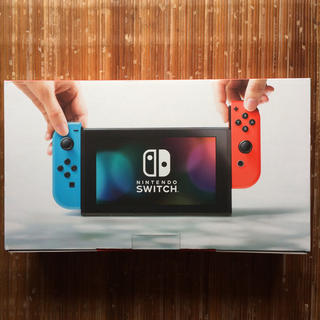 ニンテンドースイッチ(Nintendo Switch)の【新品未使用】任天堂 スイッチ ネオン Switch(家庭用ゲーム本体)