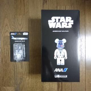 送料込み BE@RBRICK R2-D2 ANA JET 400% & 100%