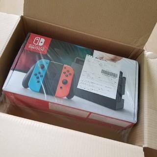 任天堂 - Nintendo Switchネオンレッドニンテンドースイッチ