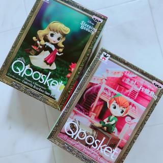 ディズニー(Disney)のqposket  オーロラ姫 ピーターパン フィギュア セット 新品 ミニ(フィギュア)