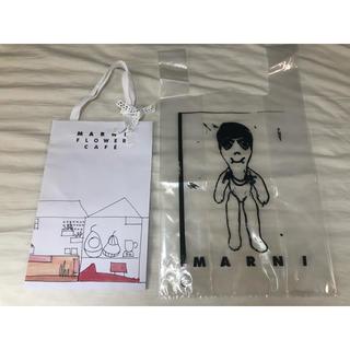マルニ(Marni)のマルニ  フラワーカフェ  ショッパー 紙袋(トートバッグ)