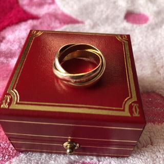 カルティエ(Cartier)の❤︎ カルティエ トリニティ 7号 ♥(リング(指輪))