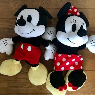 ディズニー(Disney)のミッキー ミニー ぬいぐるみ(ぬいぐるみ)