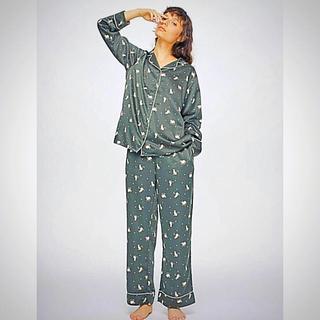 GU - GU人気完売  猫柄パジャマ