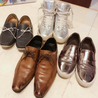 リーガル(REGAL)のリーガル、ザラ、ブランド靴まとめ売り(スリッポン/モカシン)
