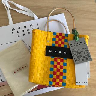 マルニ(Marni)の新作 💛 マルニ フラワー カフェ ピクニック バッグ MARNI(かごバッグ/ストローバッグ)