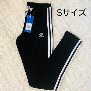 アディダス(adidas)の(アディダス オリジナルス)CE2441 ストライプ タイツ BLACK(レギンス/スパッツ)