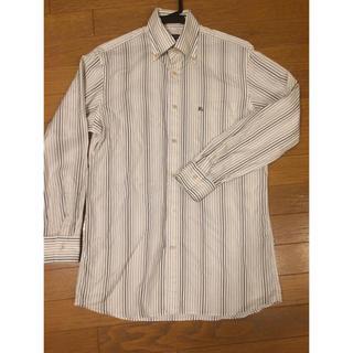 バーバリー(BURBERRY)の3) バーバリー ロンドン ストライプ ワイシャツ(シャツ)