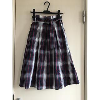 しまむら - チェック スカート